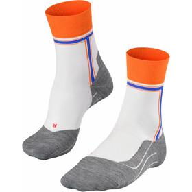 Falke RU4 The T Running Socks Men, biały/szary
